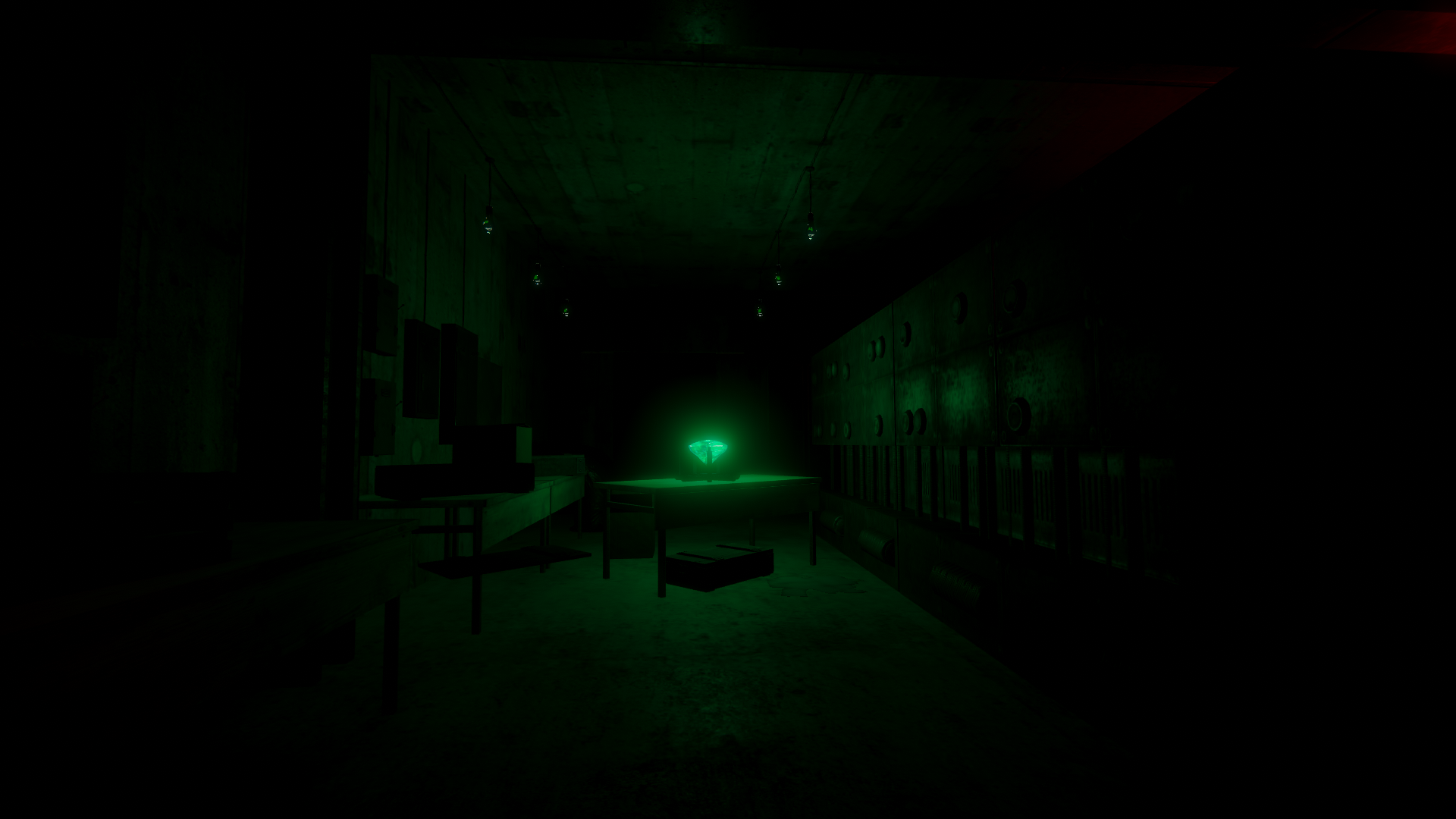 Screenshot of place in bunker - Independent Zone