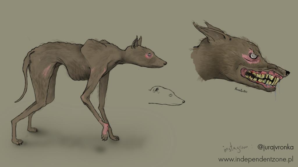 Dog - sketch